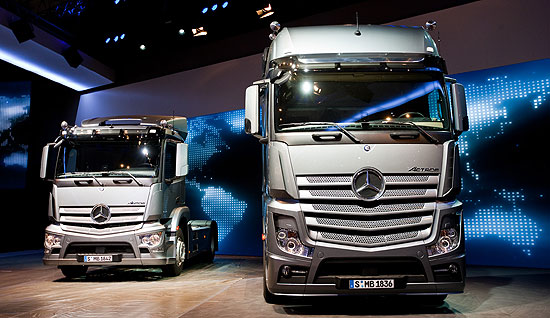Mercedes Benz Actros wins Ireland Truck of the Decade Mercedes Benz Actros is Irelands Truck of the Decade