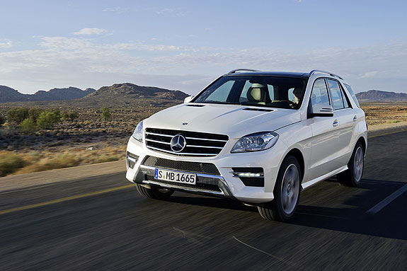 Mercedes Benz M Class Mercedes Benz M Class Gets Top Safety Pick+ Recognition from IIHS