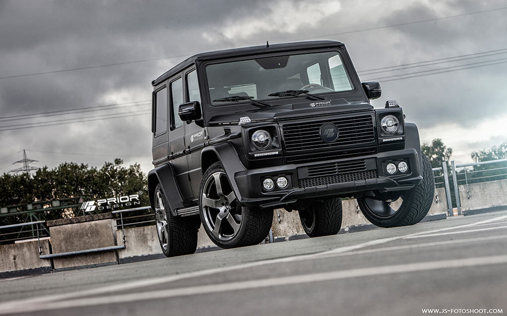 Prior Design Releases New Mercedes-Benz G-Class Body Kit