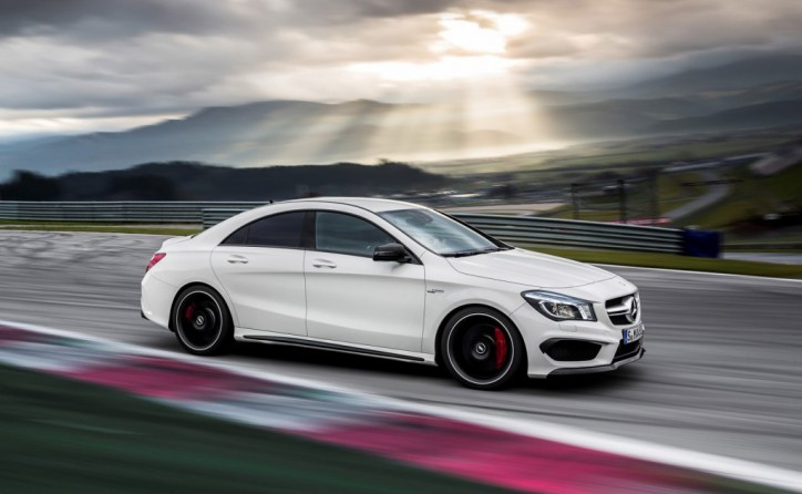 2014 Mercedes Benz CLA45 AMG 724x446 Maintaining your new Mercedes Benz