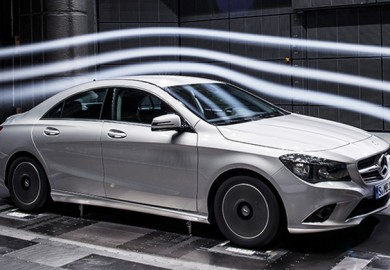 Notable Aerodynamics On Mercedes-Benz CLA