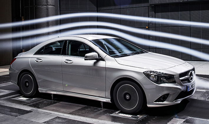 4 Notable Aerodynamics On Mercedes Benz CLA