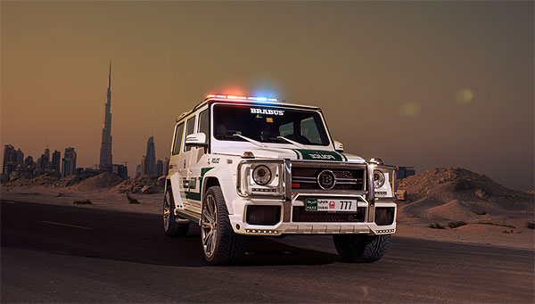 Dubai-Police-BRABUS-Mercedes-G-63-AMG