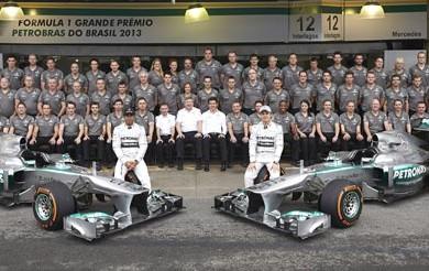 Mercedes-AMG-Petronas-F1-2013