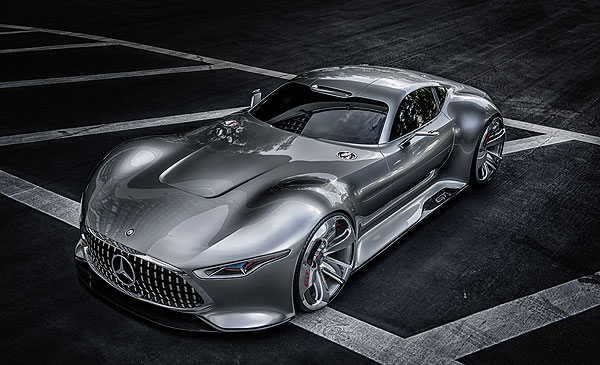 Mercedes Benz AMG Vision Gran Turismo Mercedes Benz AMG Vision Gran Turismo to be Premiered at New Research Facility