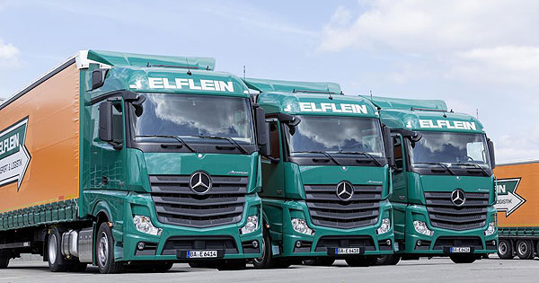 Mercedes Benz Actros 30,000+ Mercedes Benz Actros Trucks Now in Operation