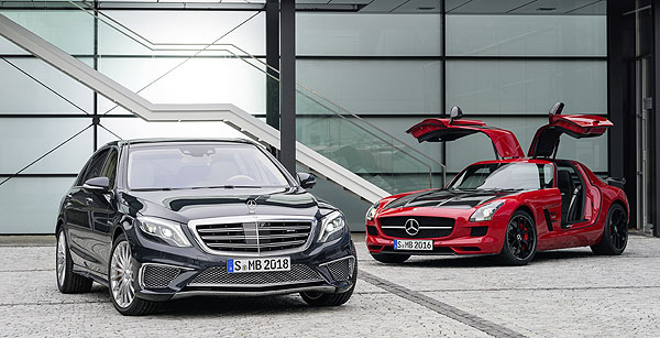 Mercedes Benz S 65 AMG and SLS AMG GT FINAL EDITION Mercedes AMG Presents the S 65 AMG and SLS AMG GT FINAL EDITION