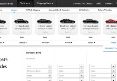 Mercedes-Benz_Online_Comparison_Tool