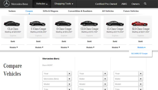Mercedes Benz Online Comparison Tool Car Comparison App Tools Help You Make More Informed Decisions