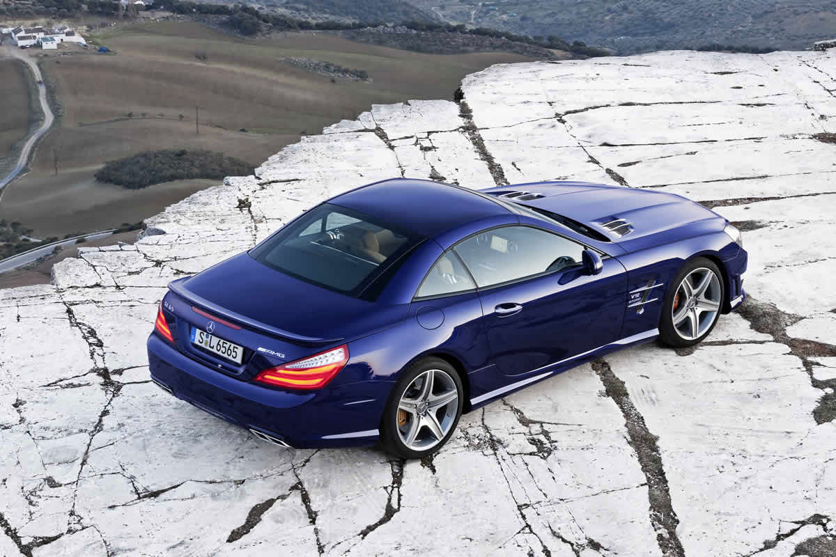 2013 Mercedes Benz Sl65 Amg Review Benzinsider Com A