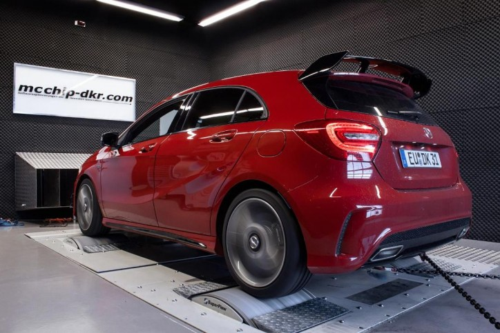 Upgrade Kits Offered For The Mercedes-Benz A45 AMG
