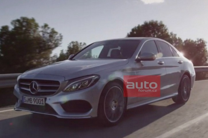 Latest Images Of New Mercedes-Benz C-Class Leaked