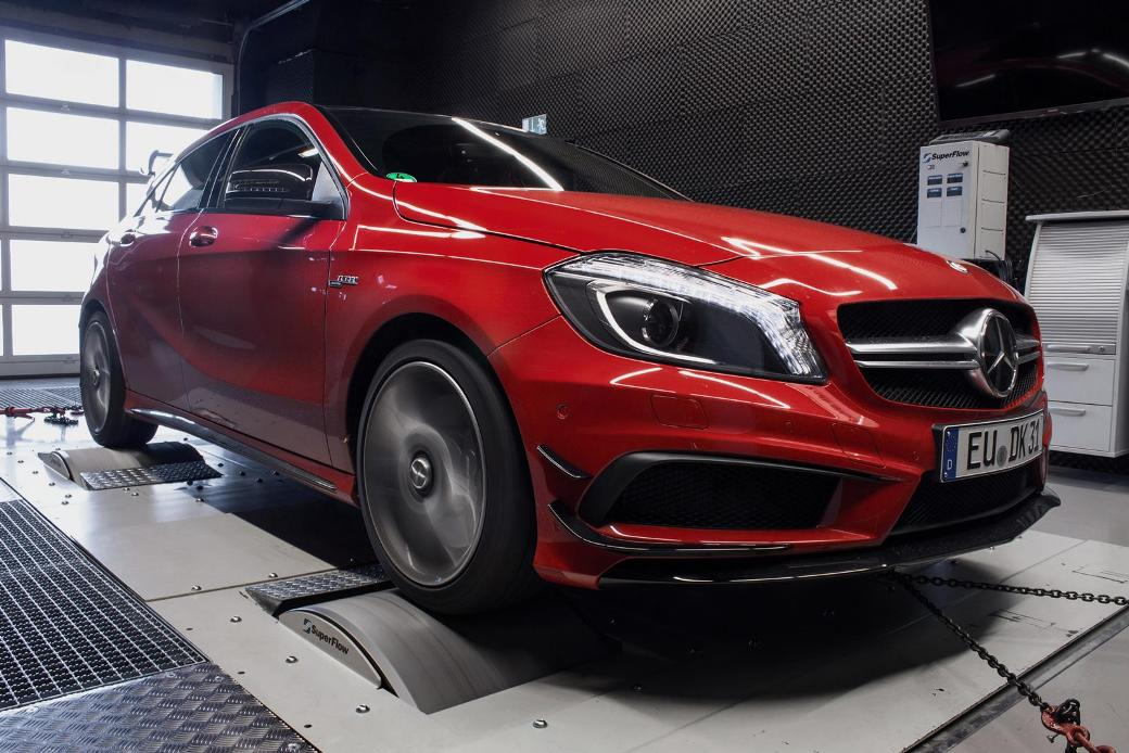114 Upgrade Kits Offered For The Mercedes Benz A45 AMG