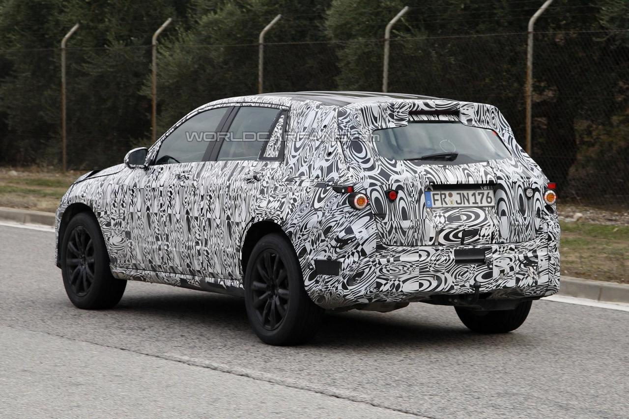 next-gen mercedes glk spy shots