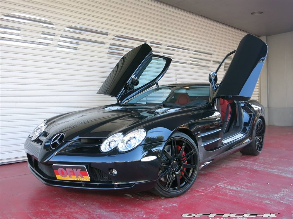 136 Office K Modifies Mercedes Benz SLR McLaren