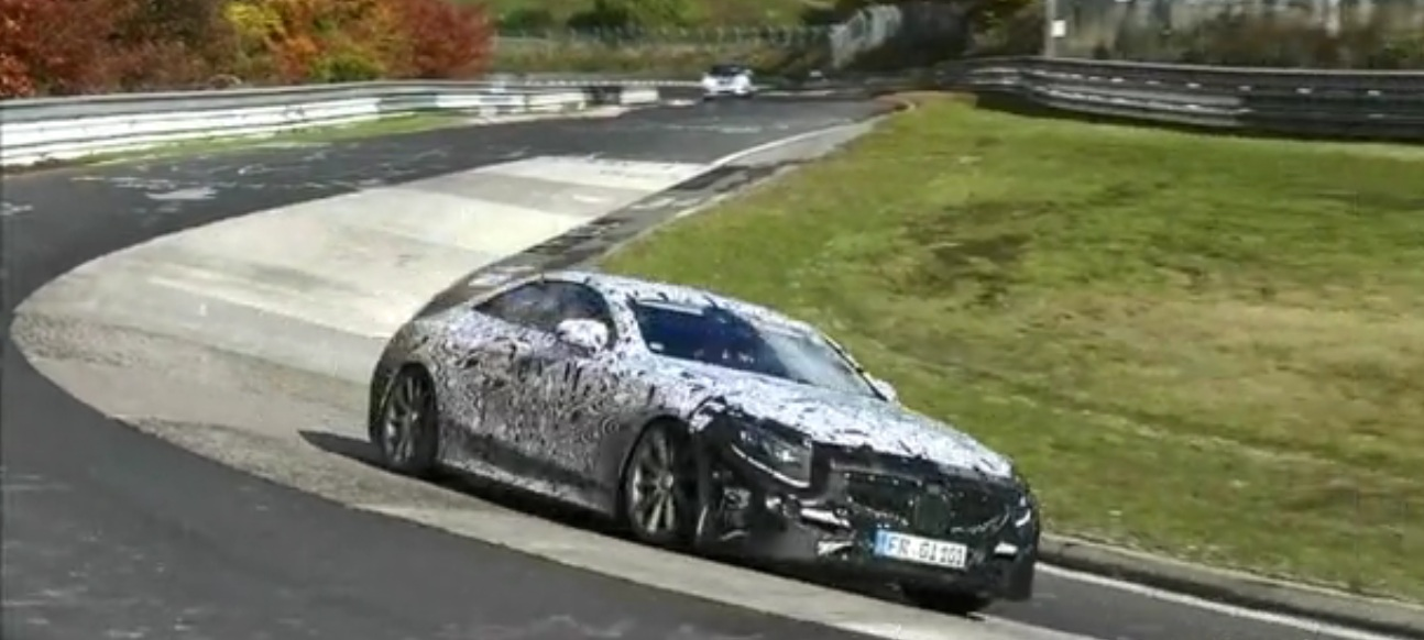 2015 Mercedes S63 AMG Coupe 2015 Mercedes S63 AMG Coupe Test Run Videos Revealed