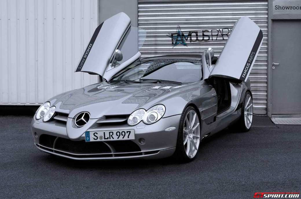 216 Famous Parts Tunes Mercedes Benz SLR McLaren Roadster