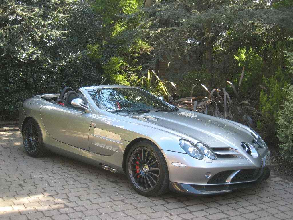 Mercedes-Benz McLaren SLR 722S Available In The Market