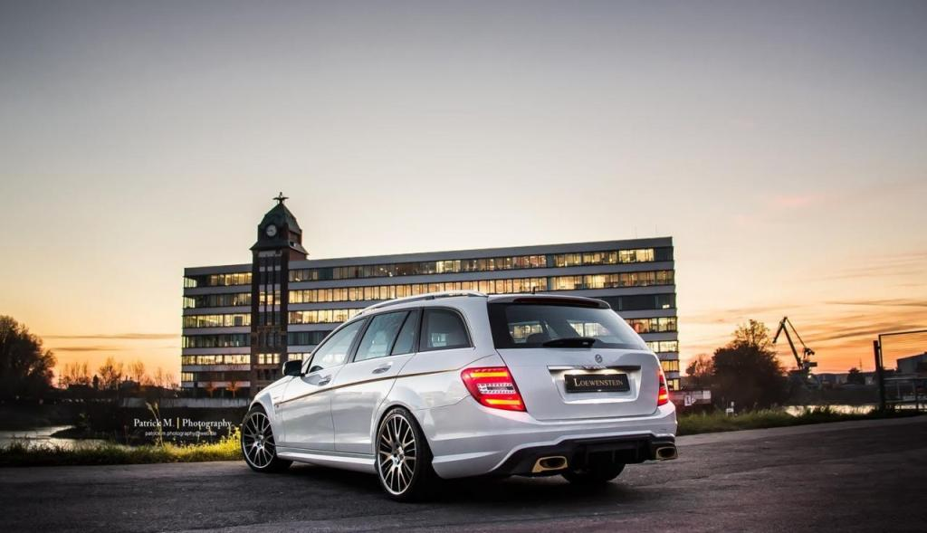 Mercedes-Benz C63 AMG Estate Tuned By Loewenstein ...