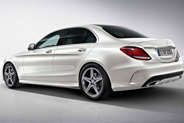 mercedes 2015 c class amg sport photos leaked a mercedes benz fan blog. Black Bedroom Furniture Sets. Home Design Ideas