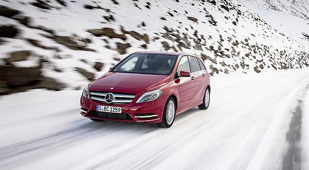 Mercedes Benz B 220 4MATIC Mercedes Benz B Class Reaches the One million Mark