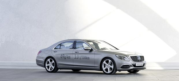 Mercedes Benz S 500 PLUG IN HYBRID Mercedes Benz Fleet: Increased Efficiency, Reduced Emissions
