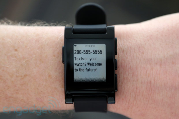 pebble smartwatch Mercedes Prepares for Google Glass and Pebble Watch Integration