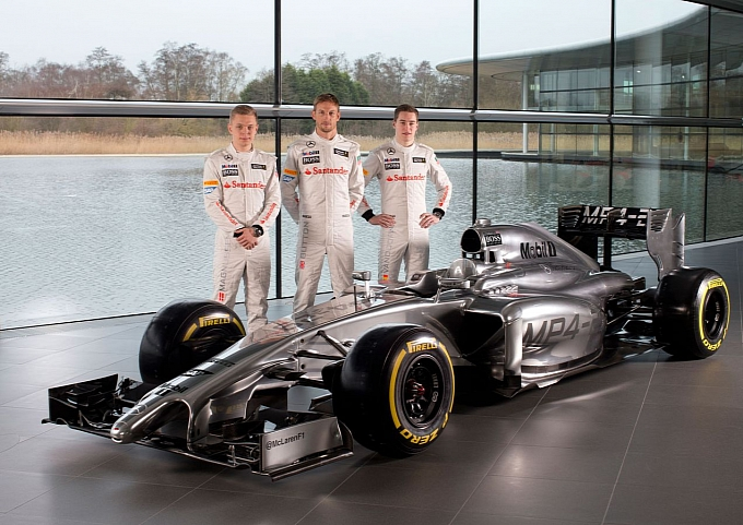 11 McLaren MP4 20 Launched For 2014 Season