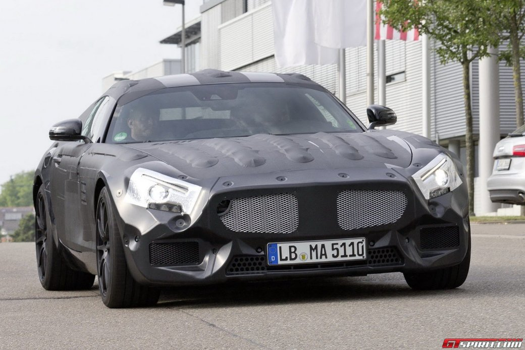 123 2015 Mercedes Benz AMG GT May Be Unveiled Within The Year