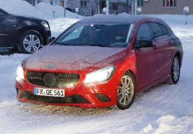 Latest Mercedes-Benz CLA Shooting Brake Images Emerge