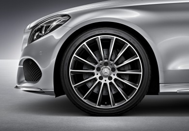 19-inch mercedes wheel sets