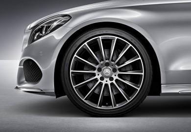 19-inch mercedes wheel sets