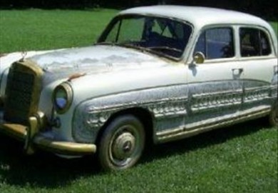 1959 Mercedes-Benz Golden Angel Wing (1)