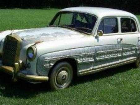 1959 Mercedes Benz Golden Angel Wing 1 Muhammad Ali's 1959 Mercedes Benz Golden Angel Wing Goes Into Auction