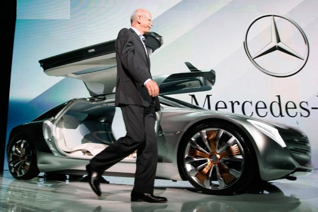 2013 mercedes sales are up