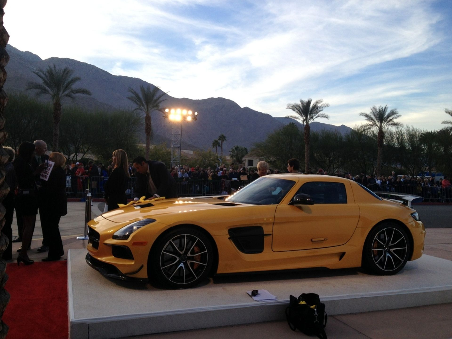 2014 Mercedes SLS AMG Black Series 4