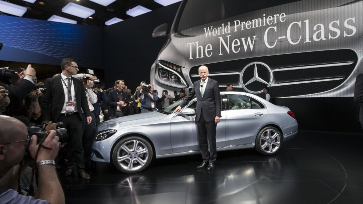 new c-class debut