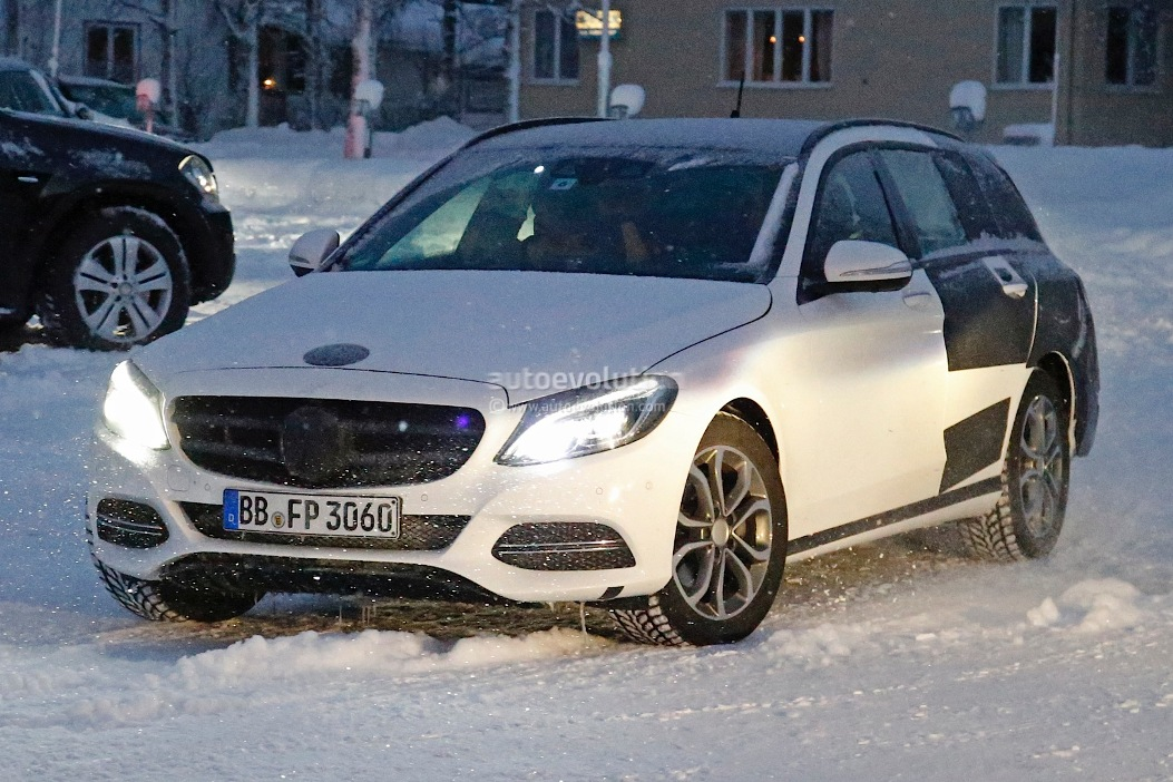 21 Images Of Mercedes Benz C Class Estate Emerge