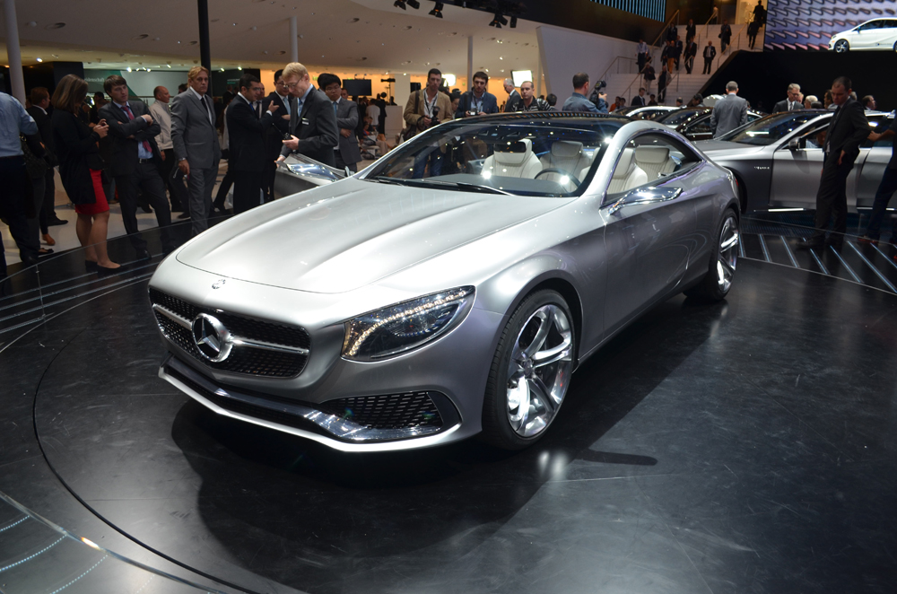 25 Mercedes Benz S Class Coupe May Be Unveiled During The Geneva Motor Show