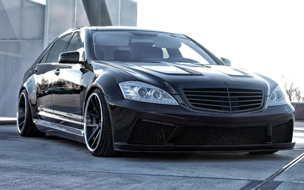 Prior design tunes earlier mercedes benz s class model for Mercedes benz franchise