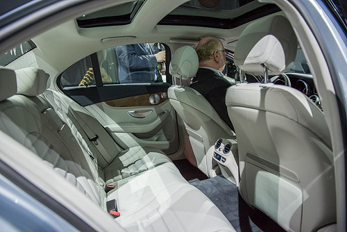 A closer look at the design of the 2015 mercedes c class for Mercedes benz c class 2015 interior