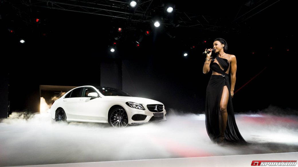 Kelly Rowland Mini-Concert Welcomed 2015 Mercedes-Benz C-Class Into US Market