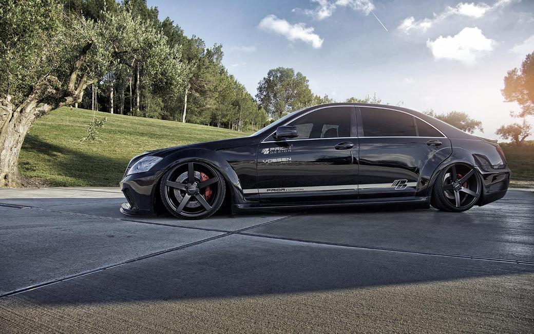 Prior Design Tunes Earlier Mercedes Benz S Class Model