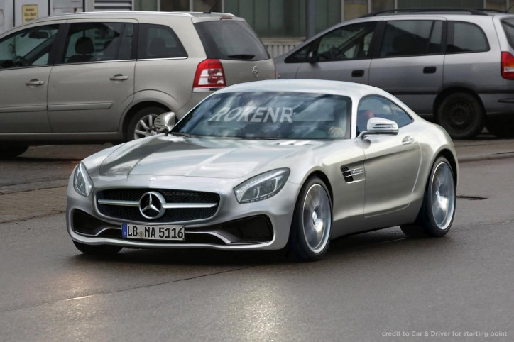 AMG GT render 724x482 Mercedes AMG GT Audio Clips Teased