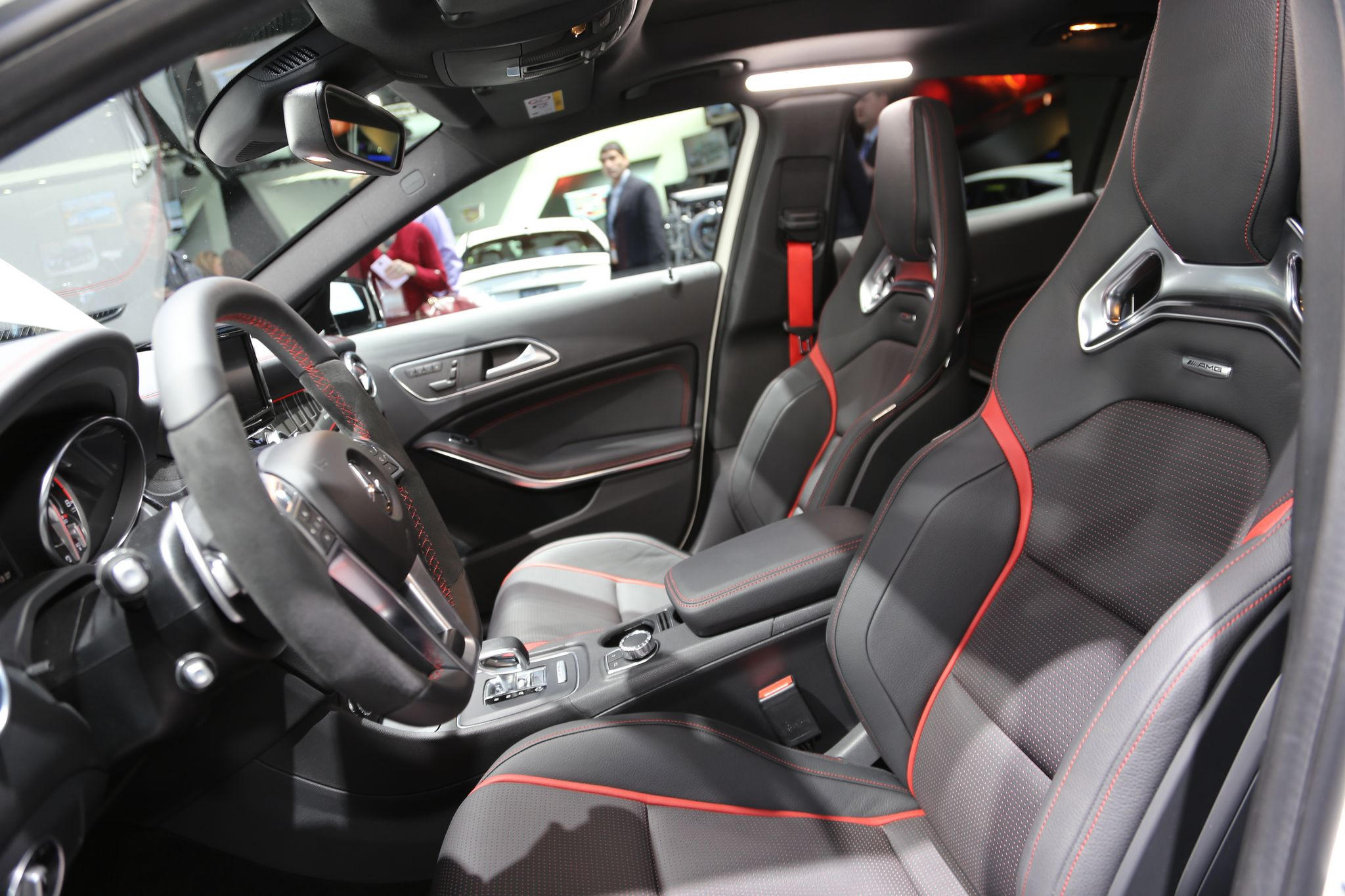 GLA 45 AMG 4MATIC interior - BenzInsider.com - A Mercedes-Benz Fan Blog