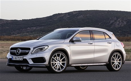 Mercedes GLA 45 AMG 3 How the Endurance of the New Mercedes GLA Class was Tested