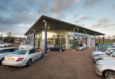 mercedes-benz car dealership in perth