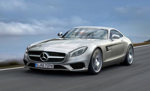 mercedes render car and driver What the 2015 Mercedes AMG GT will Possibly Look Like