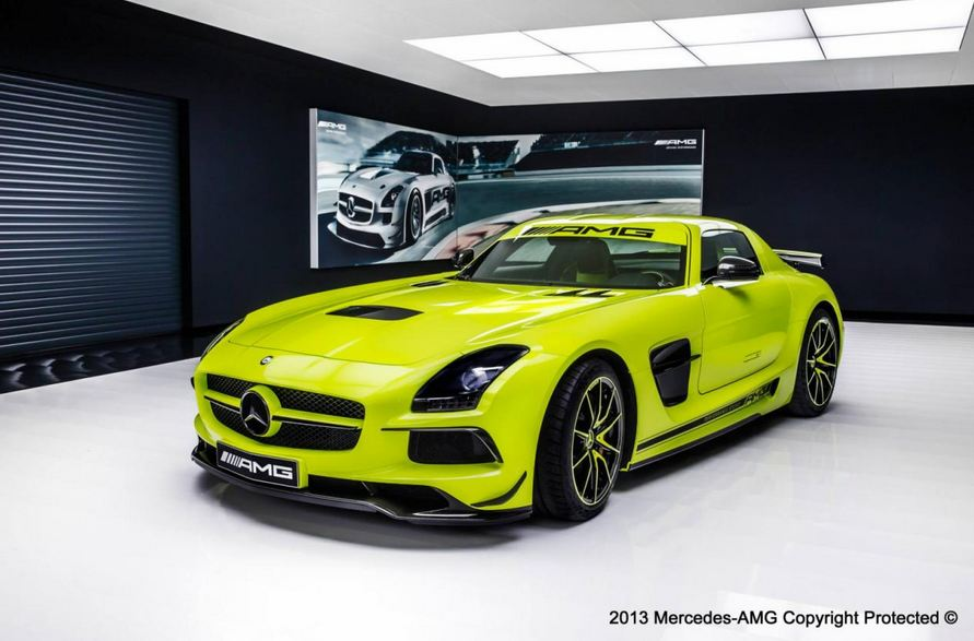 mercedes sls amg black series AMG Performance Studio Gives Mercedes SLS AMG Black Series a Restyling
