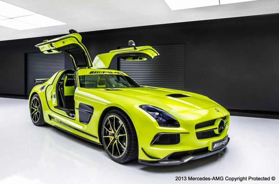 Amg Performance Studio Gives Mercedes Sls Amg Black Series